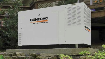 Generac generator installed in East Boston MA by Wetmore Electric Inc.